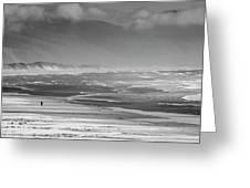Stormy Oceanside Oregon Greeting Card
