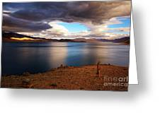 Stormy Peace Greeting Card