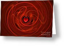 Stormy Romance Greeting Card