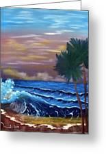 Stormy Seas Greeting Card