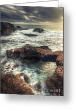 Stormy Seascape Greeting Card
