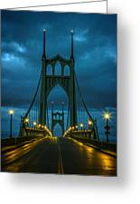 Stormy St. Johns Greeting Card
