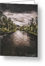Stormy Streams Greeting Card