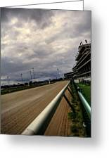 Stormy Track Greeting Card