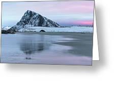 Storsandnes, Lofoten - Norway Greeting Card