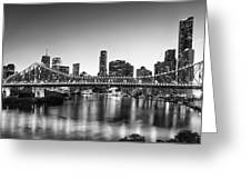 Story Bridge Brisbane Greeting Card