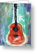 Storyteller's Guitar Greeting Card