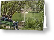 Stow Lake Greeting Card by Kate Brown