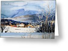 Stowe Valley Farm Greeting Card