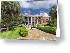 Stozier Library At Florida State University Greeting Card