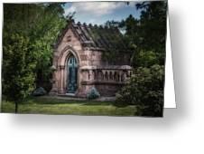 Strader Mausoleum Greeting Card