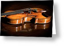 Stradivarius In Sunlight Greeting Card