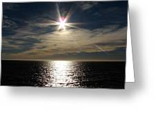straits of magellan II Greeting Card