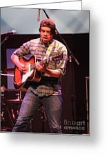 Strange Vine Guitarist Toby Cordova Greeting Card