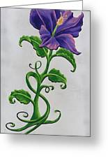Strangler Hibiscus Greeting Card