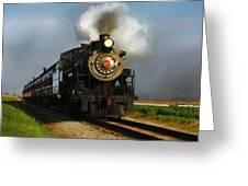 Strasburg Locomotive Greeting Card