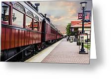 Strasburg Railroad Greeting Card