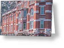 Strater Hotel Greeting Card by Jason Coward