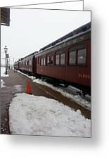Strausburg Railroad Greeting Card
