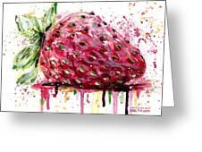 Strawberry 2 Greeting Card