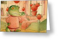 Strawberry Day Greeting Card