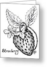 Strawberry Dreams Greeting Card