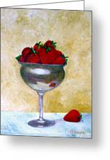 Strawberry Feast Greeting Card