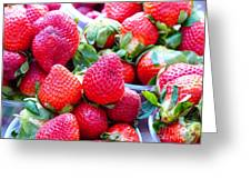 Strawberry Fest Greeting Card