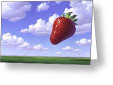 Strawberry Field Greeting Card