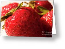 Strawberry Fun Greeting Card