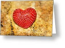 Strawberry Love Greeting Card