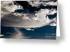 Streakin' Cloud Greeting Card