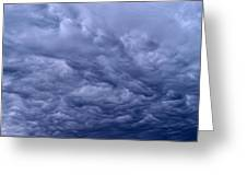 Streaks In The Clouds Greeting Card