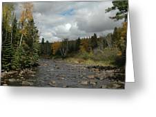 Stream At Tettegouche State Park Greeting Card