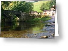 Stream In England Greeting Card