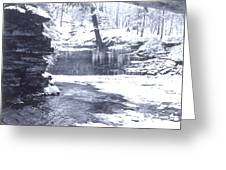 Streambed Greeting Card