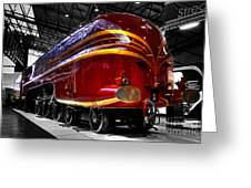 Streamlined For Speed Greeting Card