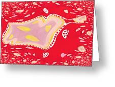 Streamy Greeting Card