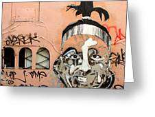 Street Art 1 Greeting Card