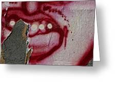 Street Art Wiiliamsburg Brooklyn 2 Greeting Card