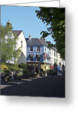 Street Corner In Tralee Ireland Greeting Card