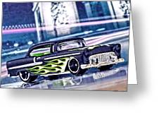 Street Cruiser - American Way Of Drive 4 By Jean-louis Glineur Greeting Card