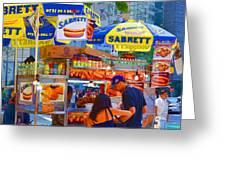 Street Food 5 Greeting Card