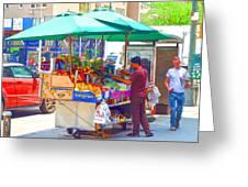 Street Food 6 Greeting Card