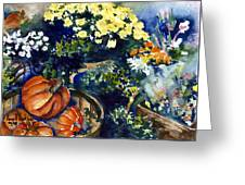 Street Garden Greeting Card