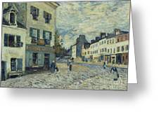 Street In Marly Greeting Card