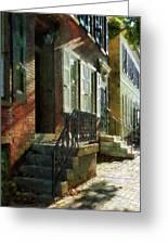 Street In New Castle Delaware Greeting Card