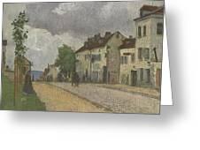 Street In Pontoise Strabe In Pontoise Camille Pissarro Greeting Card