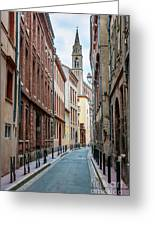 Street In Toulouse Greeting Card