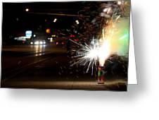 Street Lights Greeting Card